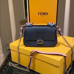 Fendi Double Micro Baguette Bag. 2016